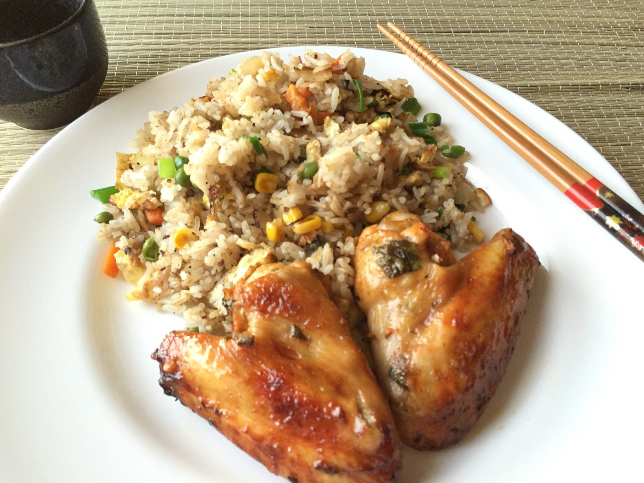 Whole Towns For Sale Roast Asian Chicken Wings With Kikkoman Soy Sauce